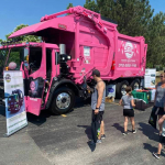 The newest edition to the SBC fleet, Coley Strong, our cancer Awareness truck